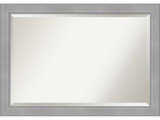Vista Brished Nickel Bathroom Vanity Mirror