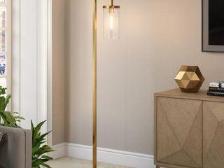 Malva Brass Finished Floor lamp