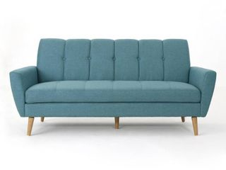Noble Home Furnishings Blue Couch