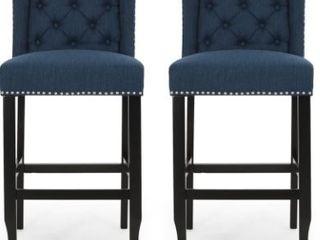 Foxwood Wingback Barstool   Set of 2