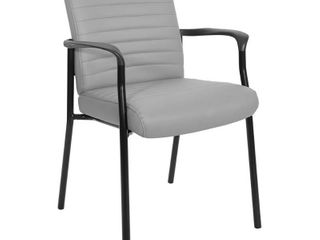 Single Dining Chair   Faux leather Black Frame