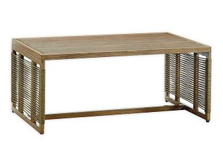 Madison Park Vale Natural Patio Coffee Table