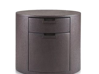 Arc Nightstand Brown