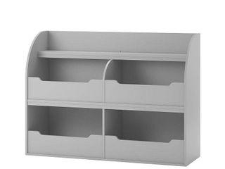 Ameriwood Home Mia Toy Storage Bookcase