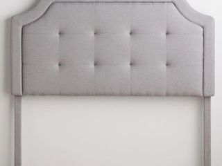 Brookside Upholstered Headboard w  Square Tufting   Queen