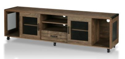 Furniture of America Hury Industrial TV Stand
