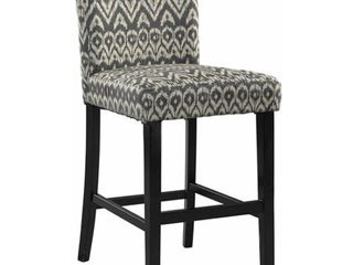 linon Morocco Counter Height Stool  24 inch seat height  Multiple Colors