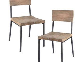 INK IVY Tacoma Dining Chairs   Set of 2