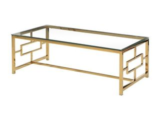 Best Master Furniture Gold Safe Coffee Table