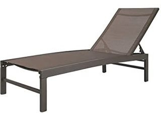 Crestlive Products Outdoor Patio lounge Chair   Beige