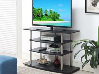 Convenience Concepts Designs2Go No Tools Wide Highboy TV Stand