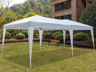 10x20 ft  EZ Pop UP Wedding Party Tent Folding Gazebo Canopy Heavy Duty  Carry Case Retail 166 49