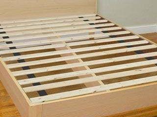 Onetan 0 75  Standard Mattress Support Wooden Bunkie Board Slats   Full