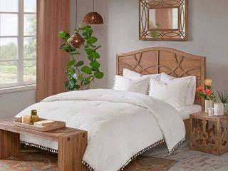 Madison Park Daisi Cotton Comforter Set  Full Queen   Retail 109 98