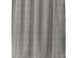 BEADS GREY Shower Curtain by Kavka Designs  Retail 103 99