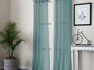 Miller Curtains PAYTON Grommet Top Panel