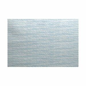3 x 5 ft  Rolling Waves  Geometric Print Indoor Outdoor Rug  Retail 85 49