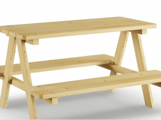 Sorrento Kids  Wood Picnic Table by Havenside Home  Retail 83 99