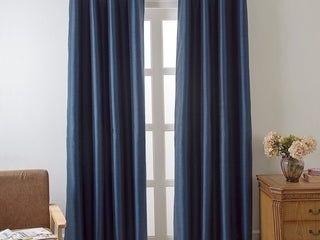 Porch  amp  Den Nantahala Grommet Room Darkening Curtain Panels