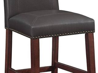 Claren leather Counter Stool by Greyson living  Retail 132 49
