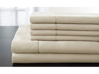 luxury Estate 6 piece Cotton Deep Pocket Bed Sheet Set