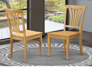 Copper Grove Siuslaw Oak Finished Dining Chair  Set of 2  Retail 169 99