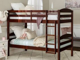Taylor   Olive Wood Twin over Twin Bunk Bed   Retail 575 99