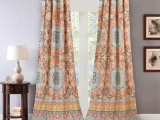 Barefoot Bungalow Olympia Curtain 4 Piece Panel Pair  set of 2