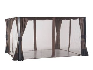 Sunjoy Replacement Mosquito Netting for South Hampton Gazebo  11 x13  l GZ659PST  Retail 104 49