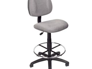 Boss Contoured Comfort Adjustable Rolling Drafting Stool Chair  Retail 96 99
