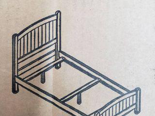 Twin bed rails   slats