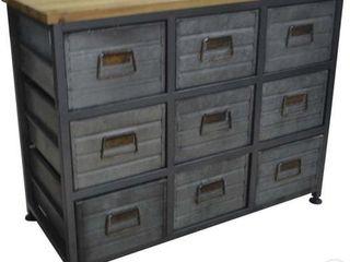 9 drawer galvanized Cabinet