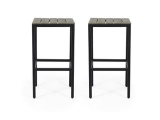 Dorset Acacia Wood Bar Stools by Christopher Knight Home  Retail 118 99