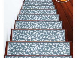 SUSSEXHOME leaves Collection Stair Treads 100  Polypropylene 9 x28  Retail 76 48