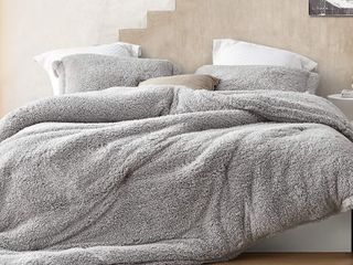 I Know You Know   Coma Inducer Oversized Comforter   King  Quiet Gray  Retail 161 99
