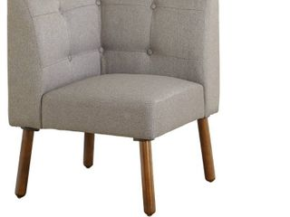 Playmate Corner Chair   Gray   Buylateral