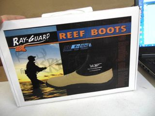 Ray Guard Reef Boots   Mens Size 8