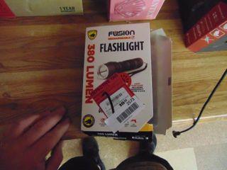 Fusion 380 lumen Recharegeable Flashlight