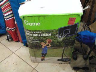 32  Portable Basketball system