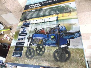 4 Wheeled Fishing Cart