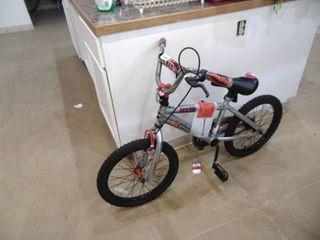 Ozone 500 Childs Bike   No Kick Stand and seat loose