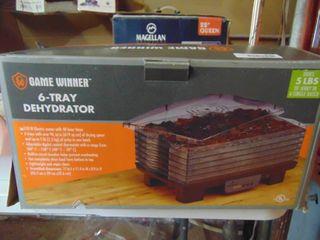 Game Winner 6 Tray Dehydrator
