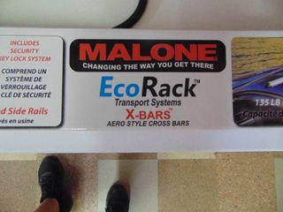 Malone Ecorack Xbars   Model MPG218