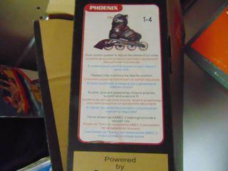 Blade Runner   Phoenix Rollerblades   Sizes 1 4 Youth