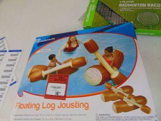 Floating log Jousting Set