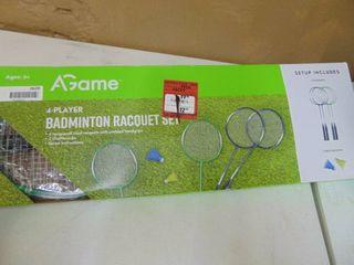 4  Player Badminton Racquet Set