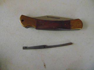 GameWinner Pocket Knife   Broken lock