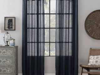 Archaeo Textured linen Blend 52  x 63  Curtain