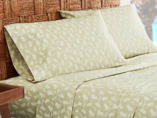 Tommy Bahama Aloha Pineapple Sheet Set  Size Twin   Green