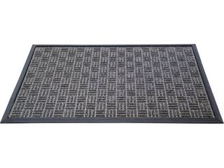 Doortexr Ribmat Heavy Duty Indoor   Outdoor Door Mat   2  x 3    Charcoal